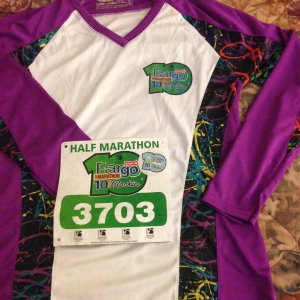 Technical Shirt for the Half Marathon