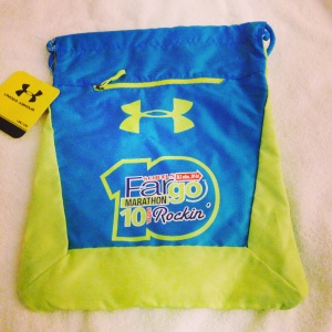 Under Armor Bag given to all runners of any race