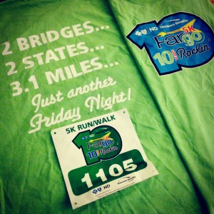 T-Shirt for the Friday Night 5k at the goFar Challenge