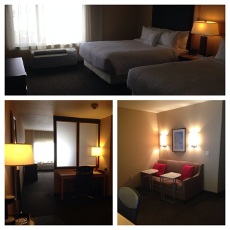 Great room at the Spring Hill Suites