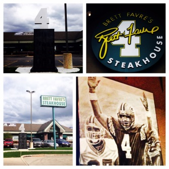 Dinner at Brett Favre's Steakhouse